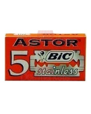Λεπίδες BIC Astor 5 τεμαχίων ανά συσκευασία