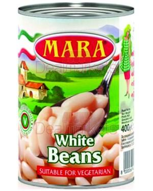Φασόλια Λευκά Mara 500gr