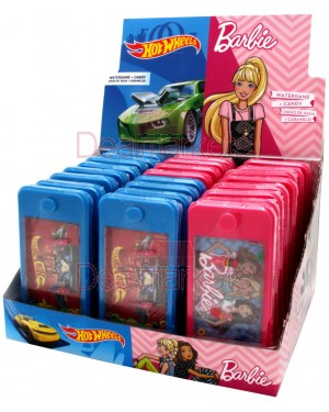 Παιχνίδι Hot Weels/Barbie Flipper 3gr 24τεμ