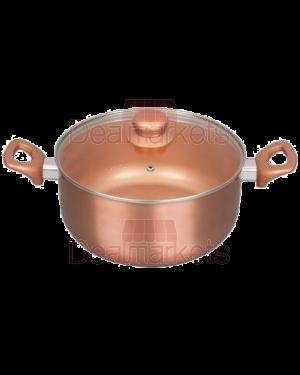 Κατσαρόλα κεραμικό Keystone Copper επαγωγικό Νο26