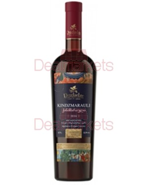 Ερυθρός ημίγλυκος οίνος Kindzmarauli φιάλη 750ml