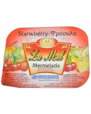 Μαρμελάδα Lamel φράουλα μερίδα 20gr