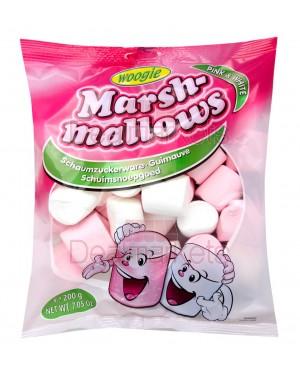 Ζαχαρωτά Woogie Marshmallows pink & white