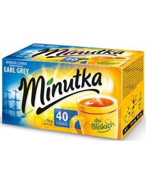 Τσάι μαύρο Minutka earl grey φάκελος 40 * 1.5gr