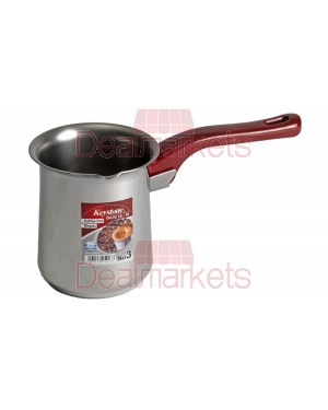 Μπρίκι Kestone Inox red No3 350ml
