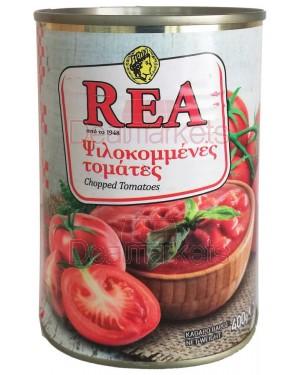Ντομάτες ψιλοκομμένες REA σε χυμό ντομάτας 400gr