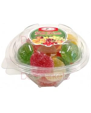 Ζελεδάκια Rovelli με γεύση φρούτων σε βάζο 300gr