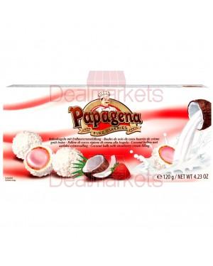 Papagena Μπαλίτσες γκοφρέτας φράουλα 120gr