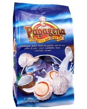 Μπάλες βάφλας Papagena με καρύδα