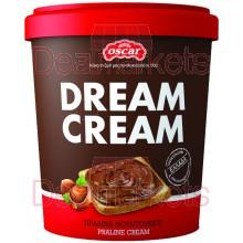 Πραλίνα φουντουκιού Oscar dream cream 400gr