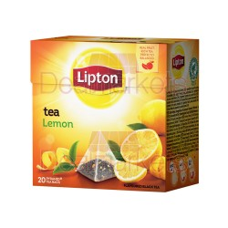 Lipton τσάι πυραμίδα lemon 20 φακ. (εισ.)